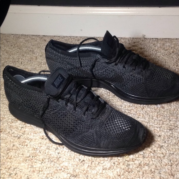 new styles 3505e e36ef Nike Flyknit Racer (Triple Black). M 5a9736839d20f0d125cba8f1